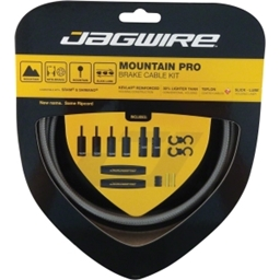 Jagwire Mountain Pro Brake Kit Titanium