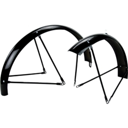 "Wald Balloon 962-26"" Black Fenders"