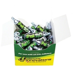 Genuine Innovations 20g Threaded CO2 Cartridges: Box of 20