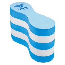 TYR Swim Pull Float: Blue/White