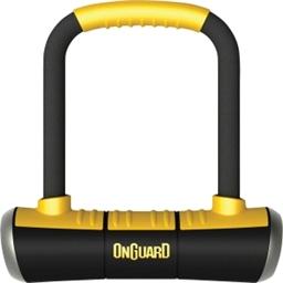 "OnGuard Brute Mini U-Lock: 3.55"" x 5.52"""