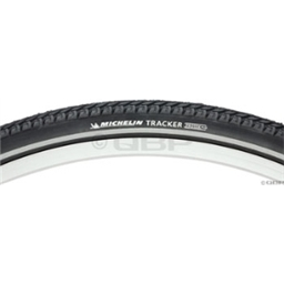 Michelin Tracker 700 x 35 Black Tire with Reflective