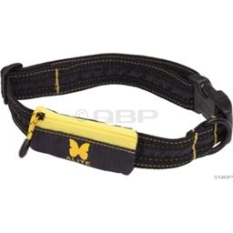 Alite Designs Boa Lite Dog Collar; Black/Yellow; LG