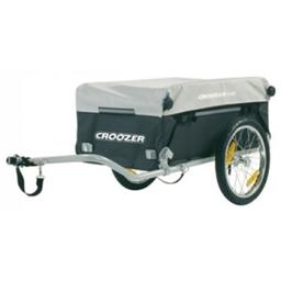 Croozer Cargo Trailer Steel Frame 60lbs Capacity Black-Silver