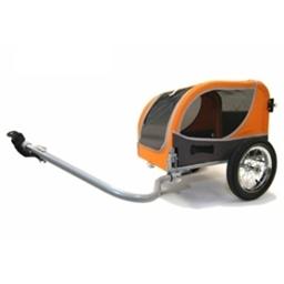 Croozer Mini Utility/Dog Trailer 45lbs Capacity Orange-Sand