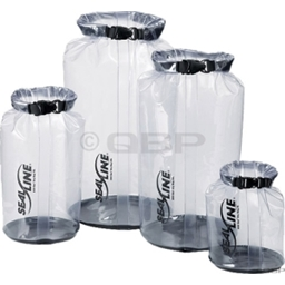 Seal Line EcoSee Stuff Sack: 30 Liter; Clear