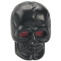 Dimension Black Skull Valve Caps