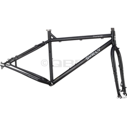 "Surly Moonlander Frameset 16"" Space Black Offset Fork"