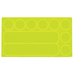 Nathan Reflective Dots & Dashes Stick-ons Yellow