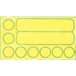 Fuelbelt Peel & Stick Reflective Yellow