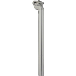 Zoom 27.2 x 350mm Silver Standard Offset Seatpost
