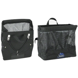 Jandd Grocery Bag Pannier Black. Sold Each.