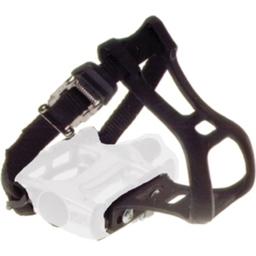 Dimension Black Toe Clip and Strap Set