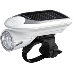 Cateye HL-EL020 Hybrid Solar Headlight