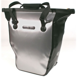 Ortlieb Bike-Shopper Commuter Bag Silver