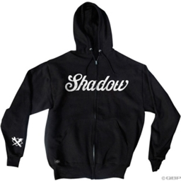 The Shadow Conspiracy Classic Zip Hoodie: Black