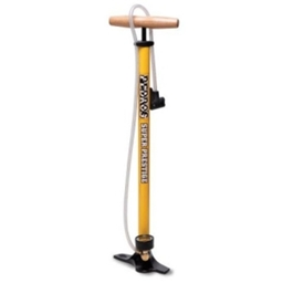 "Pedro's Super Prestige Floor Pump with 37"" Hose and Automatic Head"