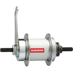 SRAM Automatic 2-speed Hub Coaster Brake, 36-Hole, 120mm Over-Locknut, 19T Cog