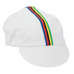 Pace Traditional Cycling Cap White
