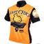 World Jerseys Biker Chick Cycling Jersey: Orange; XL
