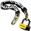 Kryptonite New York Fahgettaboudit Chain & Disc Lock: 3.25 Feet (100cm)