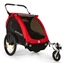 Burley Honey Bee Child Trailer: Black / Red