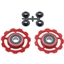CeramicSpeed Pulley Wheels, Campagnolo 11 Speed - Red