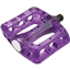 "Odyssey Limited Edition Twisted PC 9/16"" Pedals Clear Grape"