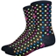 "DeFeet Aireator 4"" Spotty Sock: Black"