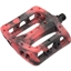 """Odyssey Black and Red Swirl Twisted PC 9/16"""" Pedals"""