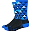 DeFeet Aireator Hi Top Pro Solitude Sock: Blue
