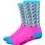 "DeFeet Aireator 6"" Framework Sock: Pink"