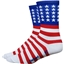 DeFeet Aireator 5 USA Sock: Red/White/Blue