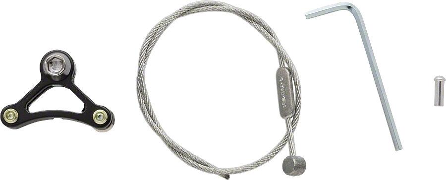 tektro alloy brake cable triangle w cable black modern bike. Black Bedroom Furniture Sets. Home Design Ideas