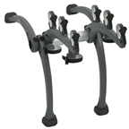 Saris 801 Bones 3-Bike Rack Gray