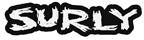 """Surly Logo Sticker 6.4"""" x 1.75"""""""