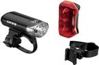 CatEye Headlight and Taillight Set EL130 / TL-170R: Black