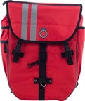Banjo Brothers Waterproof Backpack Pannier: Red